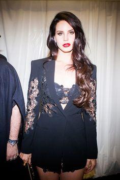 Lana Del Ray at Versace
