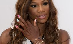 The defending champion & legendary Serena Williams at the pre Wimbledon 2013 party Celebrity Nails, Celebrity Photos, Serena Williams Tennis, Champion, Glam Slam, Adrienne Bailon, Tennis Stars, Us Open, Beauty News