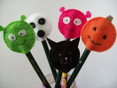 Halloween Pencil Toppers | Flickr - Photo Sharing!
