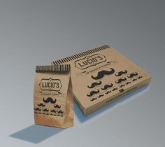 Lucio's Pizza Packaging Design PD