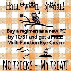 Are you wanting better looking skin and thinking of using Rodin and Field?    NOW is a great time to buy! Get a regimen of your choice, and I will give you a FREE Multifunction Eye Cream. Let me help you love your skin again.   Offer last until Monday,   October 31st.   Hurry and get yours today.    Message me or go to kscampbell7.myrandf.com. #changingskinchanginglives