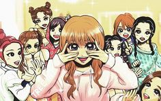 Wow props! Fan art of Twice knock knock #twice #트와이스 #nayeon #나연 #jeongyeon #정연 ##momo #모모 #sana #사나 #mina #지효 #dahyun #다현 #chaeyoung #채영 #tzuyu #쯔위 #jihyo #지효 #cute #pretty #fanart #beautiful #예쁜 #かわいい #綺麗 #素敵 #kpop #jyp @twicetagram