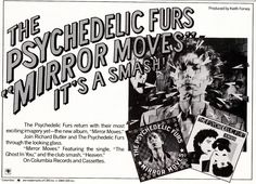 The Psychedelic Furs Promotional Ad https://www.facebook.com/FromTheWaybackMachine