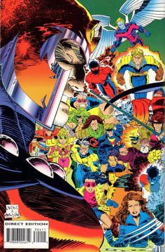 Magneto & The X-Men by John Romita Jr. and Dan Panosian