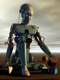 I robot by franco brambilla