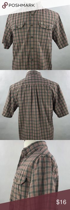Casual Button-down Shirts Hearty Banana Republic Blue Stripe Long Sleeve Casual Shirt Men Sz S 14 14.5 Euc Terrific Value