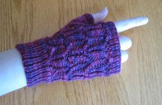 These mitts are done in a lace pattern, and uses about 50 grams of a fingering weight yarn. Lace Patterns, Knitting Patterns, Crochet Cozy, Fingering Yarn, Fingerless Gloves Knitted, Wrist Warmers, Finger Weights, Needles Sizes, Free Pattern