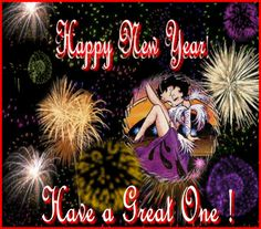 Betty Boop Pictures Archive: More Betty Boop Happy New Year's pictures and animated gifs