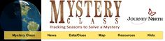 Excellent for the consistent teacher - This site has been updating for several years - get your students involved in the fall and then solve the mystery in the spring.