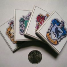 Harry potter coasters!