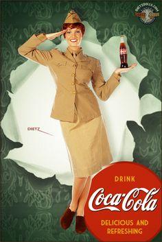 Pinups - Coca Cola by warbirdphotographer.deviantart.com