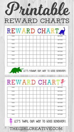 PRINTABLE BEHAVIOR CHART (FREE DOWNLOAD) + 10 more FREE Printables! • Domestic Superhero