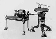 retro vintage modern hi-fi: 1926 Western Electric Turntable 2A