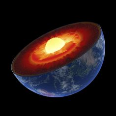 Newly discovered layer in Earth's mantle can affect surface dwellers too. Sinking tectonic plates get jammed in a newly discovered layer of the Earth's mantle – and could be causing earthquakes on the surface. Earth's Mantle, Outer Core, Earth Layers, Earth's Magnetic Field, Global Map, Hollow Earth, Galaxy Makeup, Astronomy, Outer Space