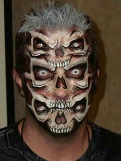 Deadly halloween makeup!
