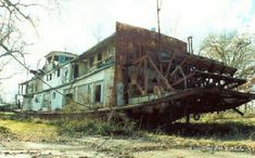 Abandoned Riverboat in Dixie [750X445]