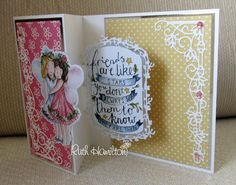 Note the MIRROR card behind the lace frame.  http://tonicstudios.blogspot.com/2016/01/tonic-tutorial-how-to-make-3d-pop-up.html