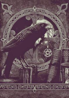 Libro de Sombras Online: Morrigan: La Diosa de los Cuervos