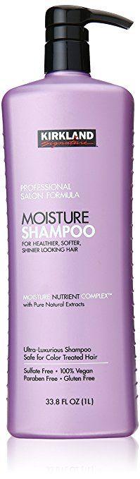 Kirkland Signature Professional Salon Formula Moisture Shampoo, 33.8 Fl. Oz.