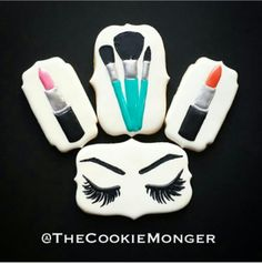 Makeup Cookies | Cookie Monger
