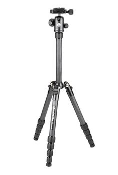 Manfrotto's Element Traveller Carbon Small is the perfect choice for enthusiast photographers looking for an extremely compact travel solution that is reliable, lightweight and easy to carry. The Manfrotto Element Traveller Carbon Small is a compact, sturdy carbon fiber tripod kit that is also highly versatile. It extends up to a height of 143cm folds down to a tiny 32cm, making it a breeze to pack in your bag. A telescopic mechanism extends the column, making it the perfect compromise…