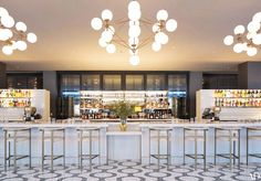 La Sirena, the new Mario Batali restaurant at the Maritime Hotel