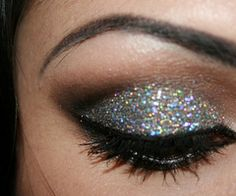 Love the glitter!! So much fun for a night out!