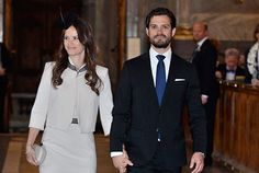 The banns have been read today in the run-up to the wedding of Prince Carl Philip of Sweden to Sofia Hellqvist in Stockholm on 13 June - Royal Court
