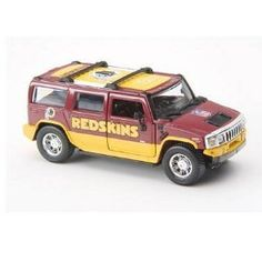 Washington Redskins 2005 NFL Limited Edition Die-Cast 1 43 H2 Hummer  Collectible by Fleer  19.99 41e91f738