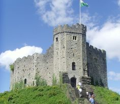 Norman Keep of Cardiff Castle. Wales. Loved being there, once. Puts life in perspective...