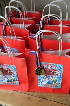 Sac invité/ Guest bag - Anniversaire Beyblade - Beyblade Party