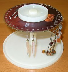 CD Spindle Earring Stand