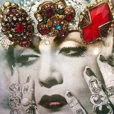 THIS DAME LOVES HER BAUBLES AND SO DO WE.......... #moonshinenettie #rhinestones #sparkles #ring #baubles #adornment #accessories #glamour #glamourous #oldhollywood #oldhollywoodglam #frenchquarter #neworleans #nolalove #nolalife #nolastyle #vintagestyle #vintageinspired #vintagestore #vintageneworleans #nolavintage #thatlacommunity #jacksonsquare #followyournola #dame #spectacular  MOONSHINE NETTIE IS LOCATED IN THE HEART OF THE FRENCH QUARTER.....OPEN 12-6 by moonshinenettie