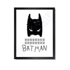 Batman by ThePaperedTribe on Etsy