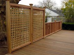 above ground pool deck privacy fence Deck Railing Design, Deck Railings, Deck Design, Railing Ideas, Decking Handrail, Fence Ideas, Above Ground Pool Decks, In Ground Pools, Porches