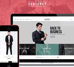 204 best free website templates sample images on pinterest free gent clothing fashion shopping ecommerce template html templates business website templates free website friedricerecipe Image collections
