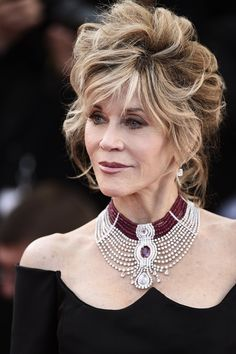 Jane Fonda's necklace is everything! #Cannes2015