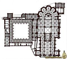 Planta de la catedral de León