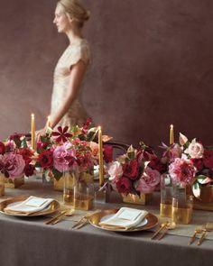 gleaming gold | @Martha Stewart Weddings Magazine