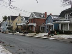 Residential area in Nazareth, PA