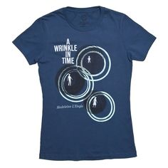 """A Wrinkle in Time"" Literary T-shirt by Out Of Print Clothing - Women's Slim Fit at Amazon Women's Clothing store: Fashion T Shirts"
