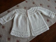 Ravelry: Puss, Cardigan - First Size Knitted Set (Cardigan) pattern by Patons