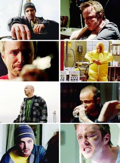 Aaron Paul as Jesse Pinkman.. I loved him from episode 1, but he is probably the best example of an actor growing into a character I've ever seen.