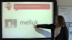 Spelling: woorden met kleefletters (+afspeellijst)