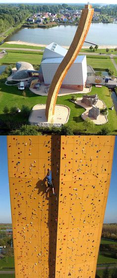 Now THIS is a climbing wall.