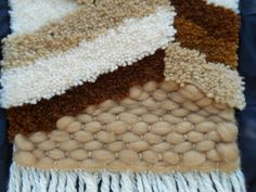 puntada de abajo, estambre super grueso lana
