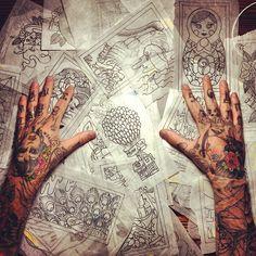 #Tattoos #Tattoos #Flash