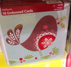 The christmas design review continues with a selection of designs from wh smith.