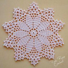 Watch The Video Splendid Crochet a Puff Flower Ideas. Phenomenal Crochet a Puff Flower Ideas. Crochet Puff Flower, Crochet Dollies, Crochet Buttons, Thread Crochet, Filet Crochet, Crochet Flowers, Free Crochet Doily Patterns, Crochet Motif, Crochet Lace
