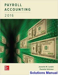 29 best testbank download images on pinterest user guide class solutions manual for payroll accounting 2016 2nd edition by landin fandeluxe Gallery